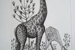 Girafes--300mm-X-200mm