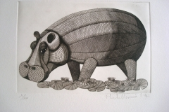Hippopotame--300mm--X-20mm